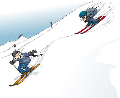 Regeln zum Skifahren